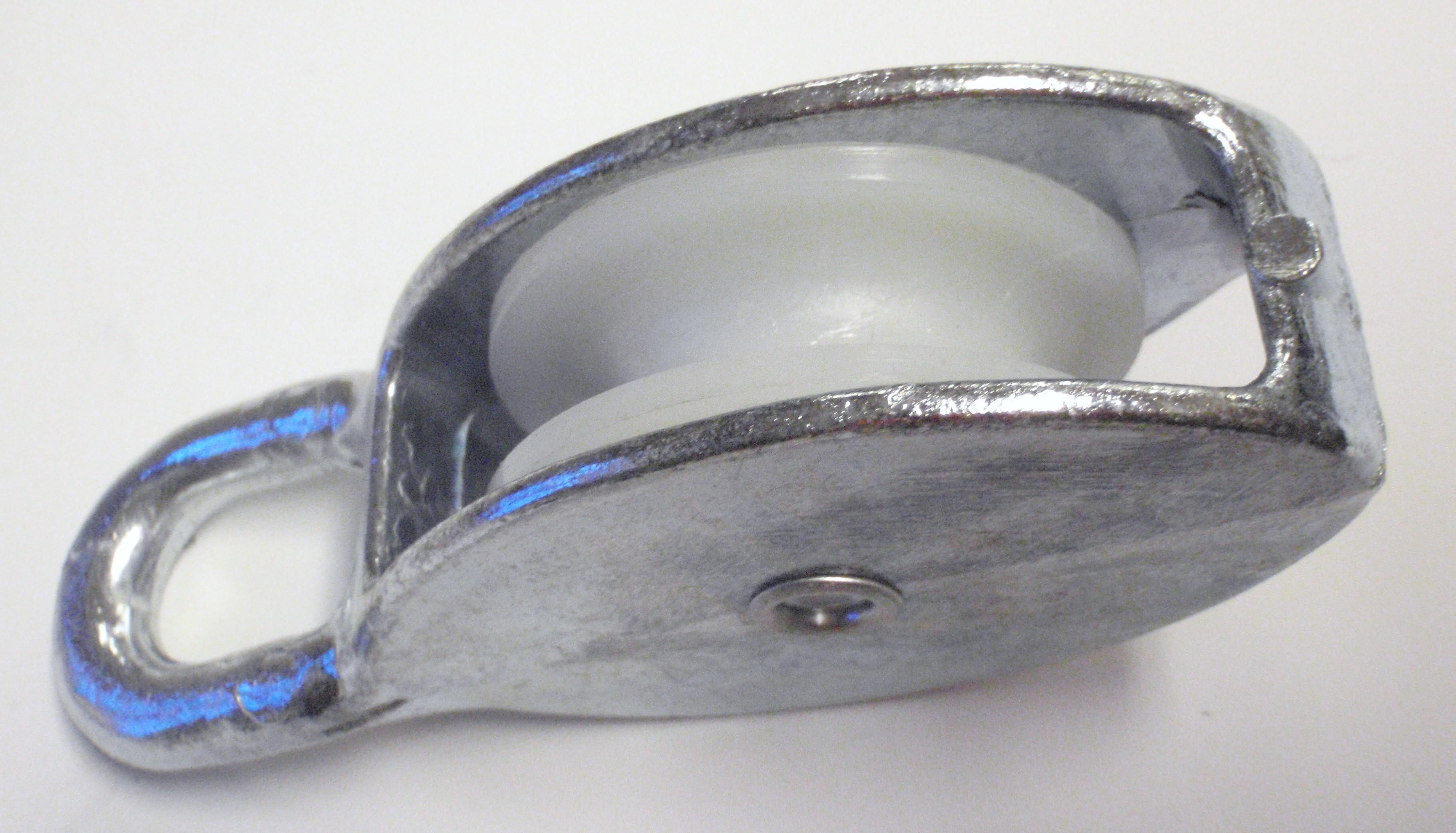 Blokker av metall med nylonskv Hovedsmann